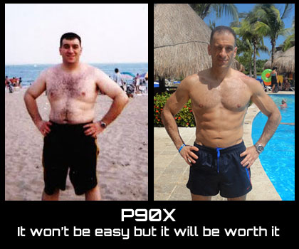 P90X: It won't be easy but it will be worth it
