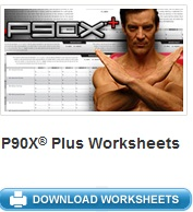 Image of P90X Plus Workout Sheets