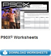 Image of P90X Workout Sheets